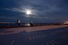Notturni di luce fortuita (DISAMISTADE_my life is a reportage!) Tags: mare luna luce notturno campodimarebrindisi