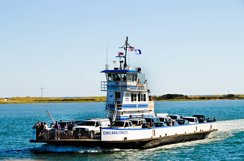 """Passing another ferry from Hatteras to Ocracoke • <a style=""""font-size:0.8em;"""" href=""""http://www.flickr.com/photos/29931407@N00/5201613854/"""" target=""""_blank"""">View on Flickr</a>"""