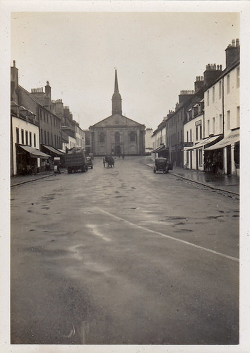 Main Street, Inveraray, Scotland. 1935.