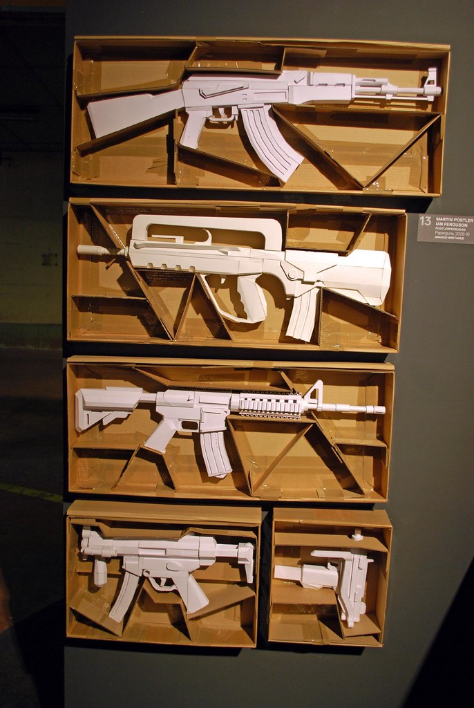 The Worlds Most Recently Posted Photos Of Gun And Papercraft