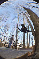 """Andy Cunningham: Flatty (Andrew """"Shutter"""") Tags: november trees winter distortion fall andy colors bike photography nikon bmx ride distorted air flash rad sb600 bikes andrew ramps fisheye wicked 600 cunningham sb lense 2010 shred flatty bmxbike fisheyelense gnar d90 andycunningham sb600flash nikond90 november2010 andrewsutter andrewsutterphotography"""