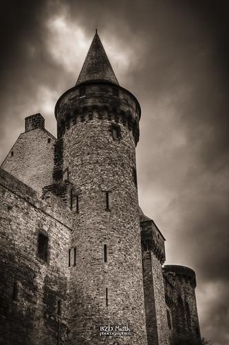 Façade Nord du château de Vitré