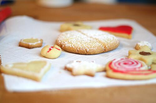 Plätzchen / Sugar Cookies