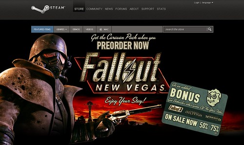 Fallout: New Vegas Helps Steam Earn $73M