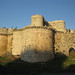 Sun on the side of Krak des Chevaliers