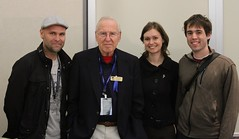 The Crew and Jim Lovell