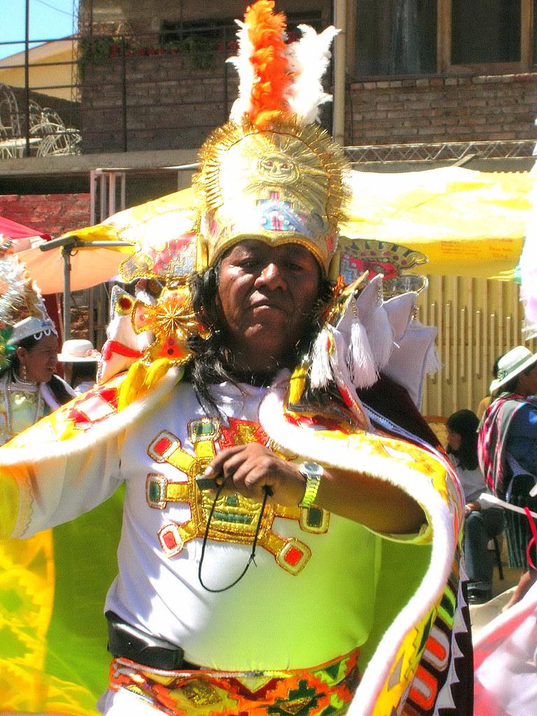 Regal Costume at Entrada Parade during Urkupina