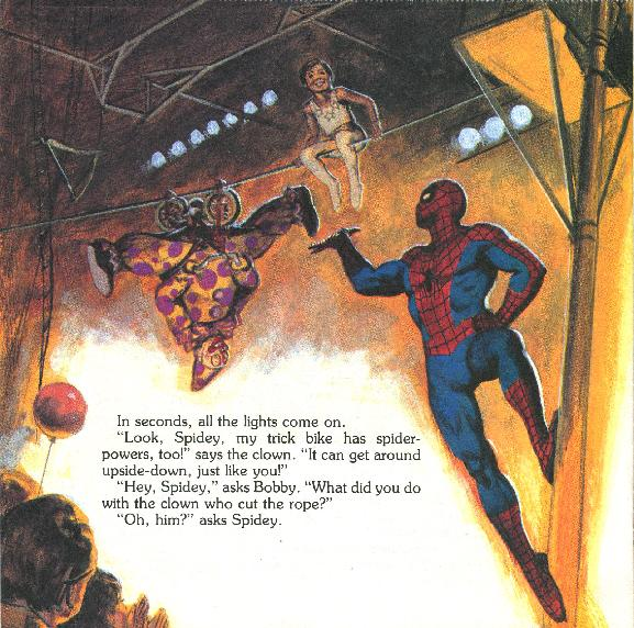 Spider-Man - The Big Top Mystery031