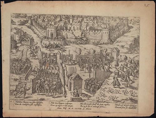 Belagerung und Vergleich von Chartres (c 1568)