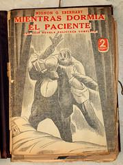 """""""Mientras dormía el paciente"""", portada de Manolo Prieto (obaku estudio) Tags: 1940 ilustración manoloprieto diseñográficoantiguo"""