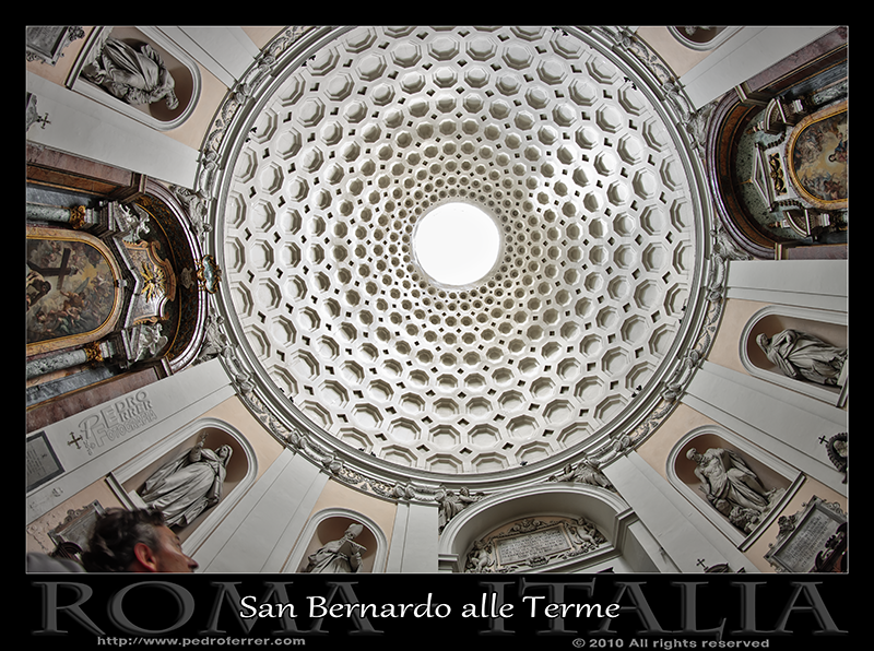 Roma - San Bernardo alle Terme - Cùpula