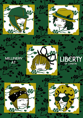 Millinery at Liberty