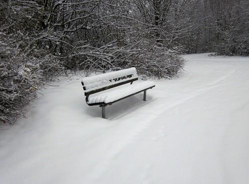 Geschlossene Schneedecke