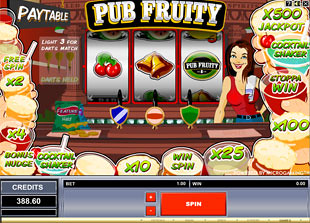Pub Fruity slot game online review