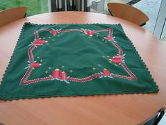 gerstekorrel kerst (borduurmarleen) Tags: crossstitch kruissteek
