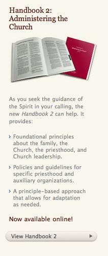 LDS Handbook 2