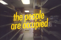 the people are occupied (Robert Bruce Murray III // Sort Of Natural) Tags: film 35mm olympusxa2 southjersey portrepublic southernnewjersey robertb wordsonphotos thirddesign sortofnatural thepeopleareoccupied portstore