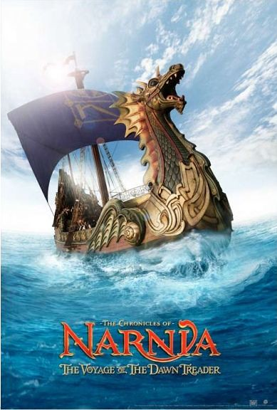 The Chronicles of Narnia The Voyage of the Dawn Treader posters