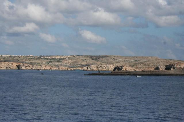 Viagem no ferry-boat desde Malta até à Ilha de Gozo