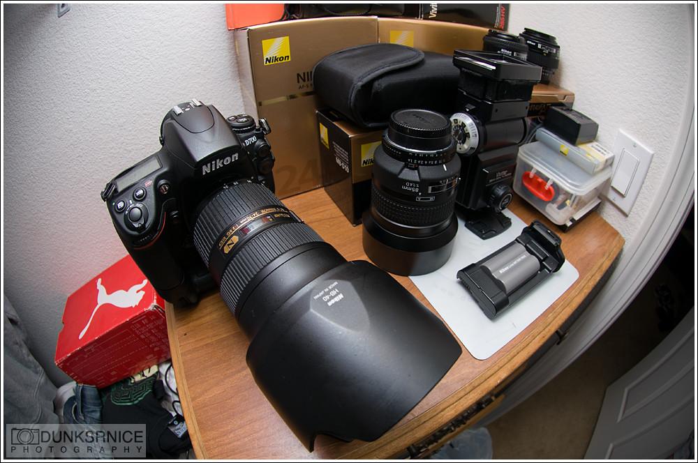 Nikon gear.