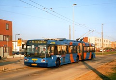 Arnhem trolleybus No. 0201 (johnzebedee) Tags: trolleybus transport publictransport arnhem holland johnzebedee vanhool