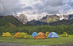 (marozn) Tags: camping tents tent outdoors way adventure travel mount forest mountain background nature landscape summer grass green extreme iceland scenics leisure scene people mountains snow icelandic campground hiking camp trek tourism alone comfortable vacation nordic sleep wild field glacier ice valley trees forrest colorful group