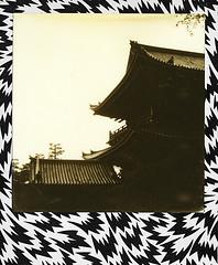 Fushimi-Inari (@necDOT) Tags: impossibleproject polaroid bw600 eley kishimoto fushimiinari kistsune tori japon japan kyoto bw noiretblanc
