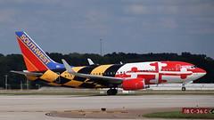 N214WN (B737) at KMEM (novarese) Tags: n214wn boeing 737 b737 southwest swa wn luv maryland marylandone kmem mem flymemphis