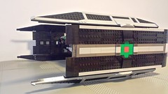 Jabba the Hutt's TIE Fighter - Side (Evilkirk) Tags: starwars lego jabba hutt tie fighter moc