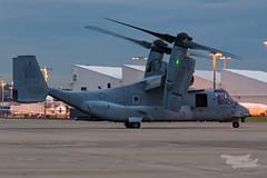 US Marines V-22 Osprey 07 YSSY-8332 (A u s s i e P o m m) Tags: v22 osprey v22osprey usmarines sydneyairport syd yssy mascot newsouthwales australia au