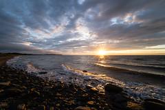 Sunset Murray Beach, New Brunswick (martinstelbrink) Tags: murraybeach campground campingplatz sunset sonnenuntergang beach strand surf brandung clouds wolken himmel sky sony alpha7rii a7rii voigtländervmeclosefocusadapter voigtländerheliar15mmf45iii voigtlanderheliar15mmf45iii voigtländer voigtlander heliar 15mm f45