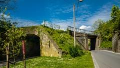 Fence on the bridge - 3225 (YᗩSᗰIᘉᗴ HᗴᘉS +6 500 000 thx❀) Tags: fence fences happyfencefriday hff bridge oldbridge nature blue bluesky road hensyasmine
