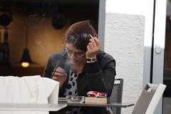 exhale (if you insist) Tags: smoking smoker exhale candid cigarette tobacco addict eurosmoke