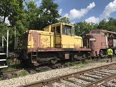 Tygart Run - Belington WV - (primemover88) Tags: speeder railcar excursion nge 45ton center cab narcoa elkins wv west virginia durbin greenbrier valley railroad