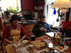 Christmas in Gorham (elizajanecurtis) Tags: christmas eliza gorham holidays kitchen mike