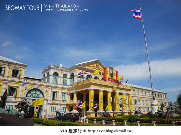 【泰國自由行】曼谷玩什麼?Segway塞格威帶你漫遊~19