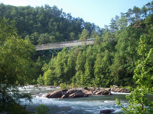 train bridge over the ocoee