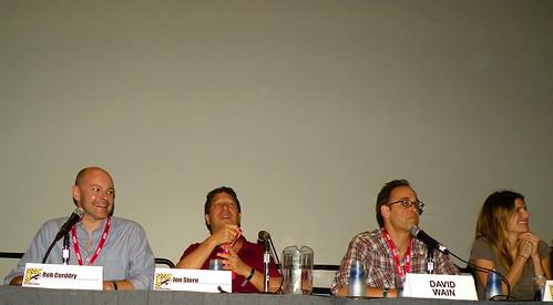 Rob Corddry, Joe Stern, David Wain, Lake Bell (Children's Hospital)