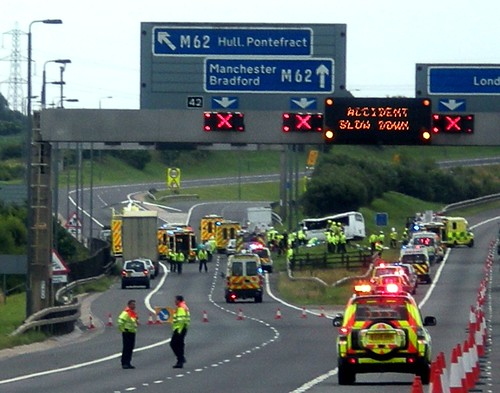 Motorway accident - a photo on Flickriver