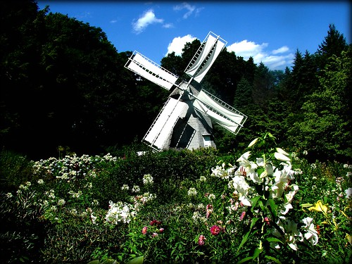 Windmill at Heritage Gardens, Sanwich Ma.