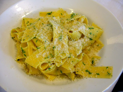 Scordo Pasta Challenge #96 Pappardelle with Garlic, Parsley, Olive Oil