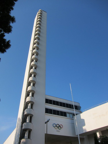 Tower of Olympiastadion Olympic Stadium
