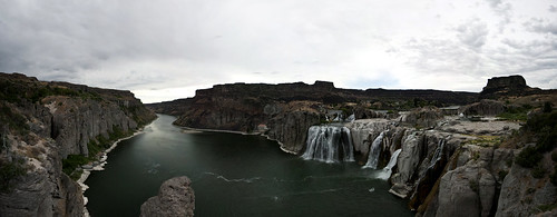 Shoshone Falls (panorama)