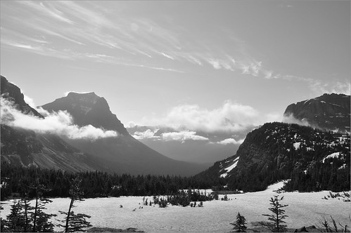 Cloudy Mountains of Logan's Pass