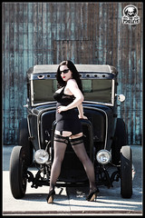 Katja Cintja Black Rod Coupe II (THE PIXELEYE // Dirk Behlau) Tags: hot ford up model pin rod coupe dirk katja behlau pixeleye cintja