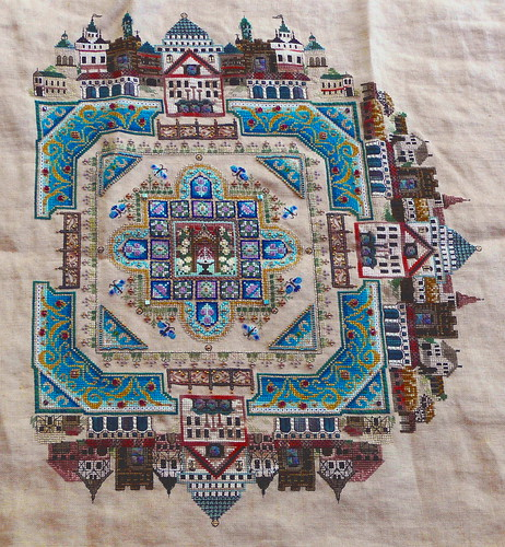 Medieval Town Mandala as of 072810