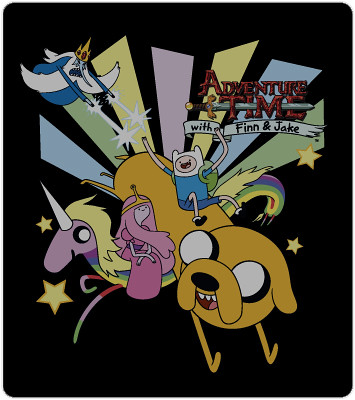 Adventure Time T-Shirt Art: Rays