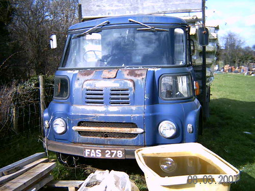 JULY 1963 AUSTIN FG LORRY FAS278