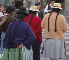 travel peru americalatina women hats perù viaggi arequipa viaggio vacanze peruvian sudamerica typicalclothes