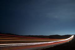Longest road to nowhere (Gerardography) Tags: road colors contrast canon way mexico noche highway long exposure carretera time colores parkway autopista contraste vallarta 1855mm exposicion larga 18mm 500d exposicionlarga colorphotoaward t1i